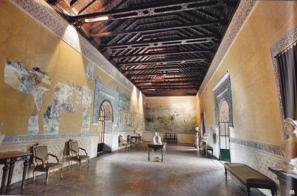 Fresco Room-Casa Pilatos-Seville-Spain