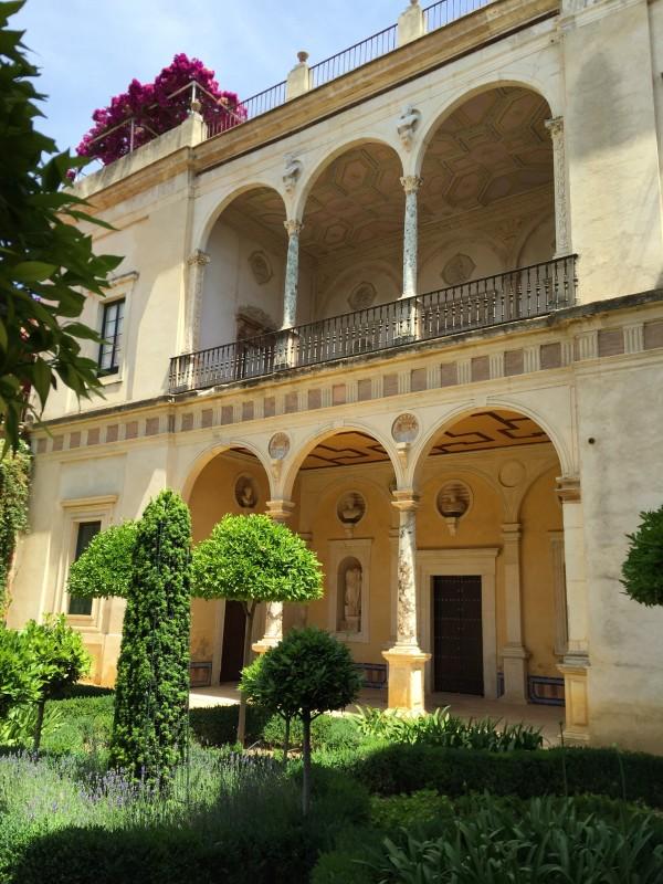 Large Garden Loggias-Casa Pilatos-Seville-Spain