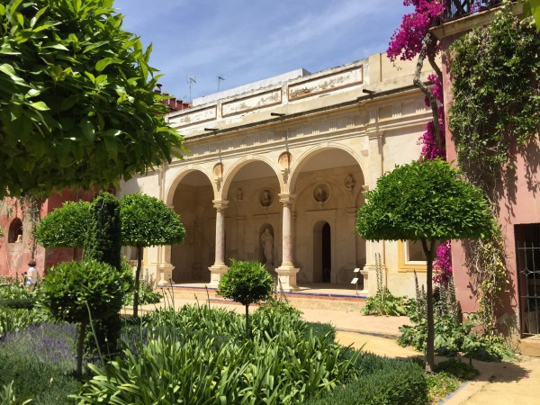 The arbor-Large Garden-Casa Pilatos-Seville