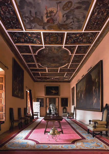 Pacheco Room-Casa Pilatos-Sevile-Spain