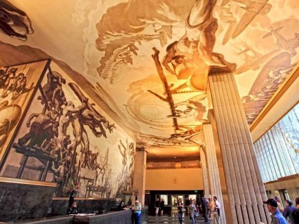 Rockefeller Center- murals-Josep Maria Sert -1913