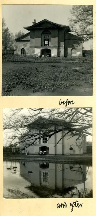 The Temple-Before and After-David Hicks archives-Ashley Hicks
