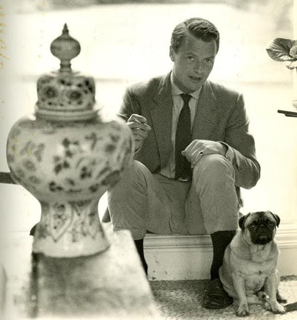 David Hicks - Pug Algy-The Temple-c.1957