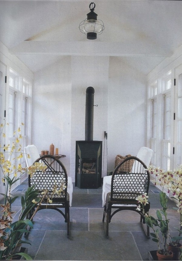 Christian Liaigre-CT farmhouse-Barbara Dente and Donna Cristina--Marie Claire-Oct 1997