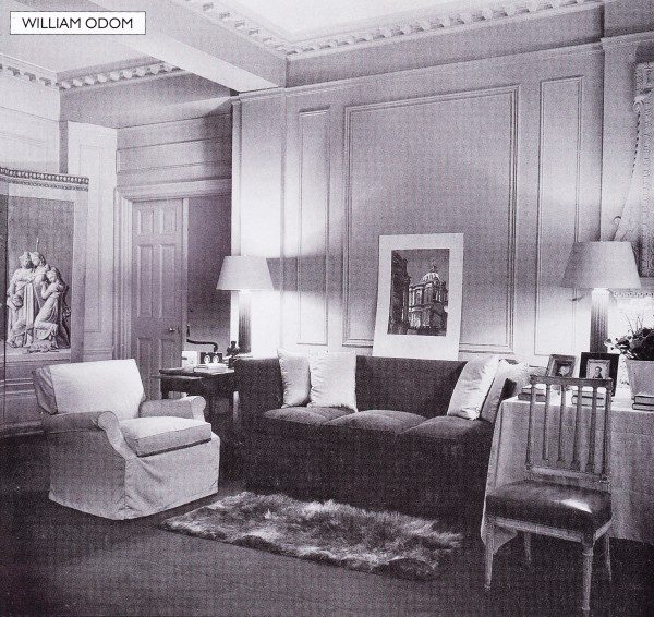 William Odom New York apartment 1930's