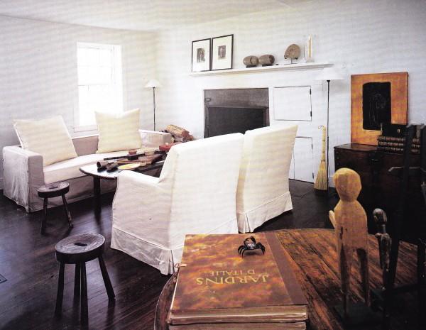 Christian Liaigre-CT farmhouse-Barbara Dente and Donna Cristina-HG OCt 1996-Anita Calero