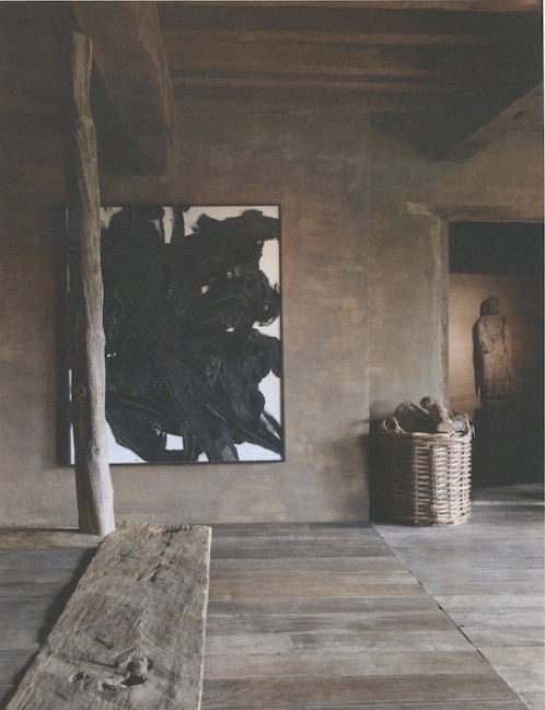 "Axel Vervoordt-'s-Gravenwezel-Castle-Belgium-Elle Decoration ""Country""issue-Winter 2015-Michael Paul"