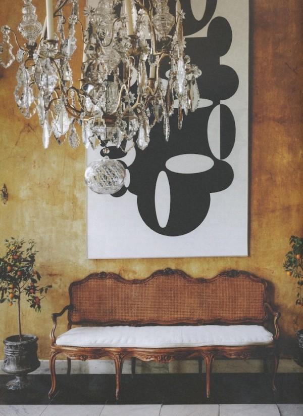 "Axel Vervoordt-'s-Gravenwezel-Castle-Belgium-Elle Decoration ""Country""issue-Winter 2015-Michael Paul"