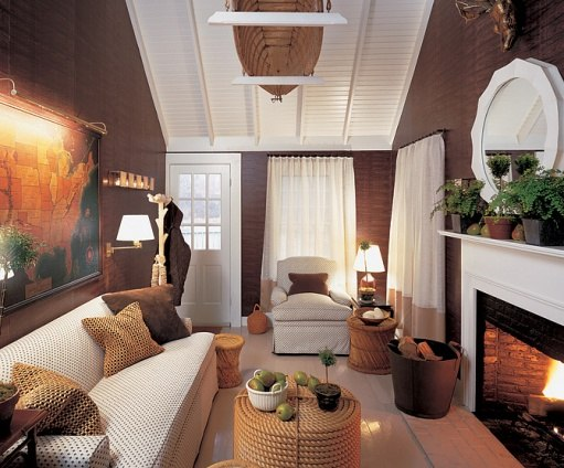Jeffrey Bilhuber-Rose Cottage-Nantucket-Elle Decor Sept 2003-Peter Vanderwarker