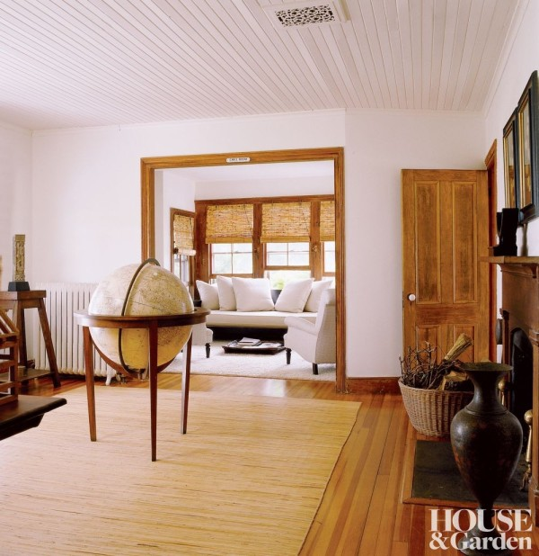 Nannette Brown and Jeff Lubin's Sagaponack home. Photo by Simon Upton.