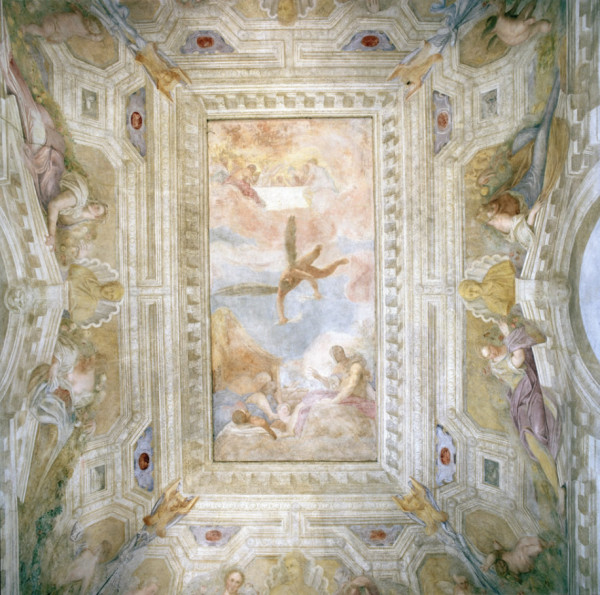 Room of Prometheus-Battista frescoes-Villa La Malcontenta-Andrea Palladio