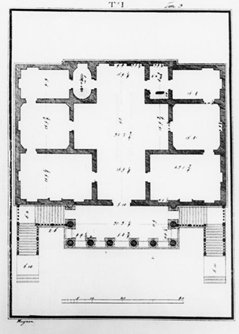 OTTAVIO BERTOTTI SCAMOZZI, Le fabbriche e i disegni di Andrea Palladio, vol. III, Vicenza 1781.