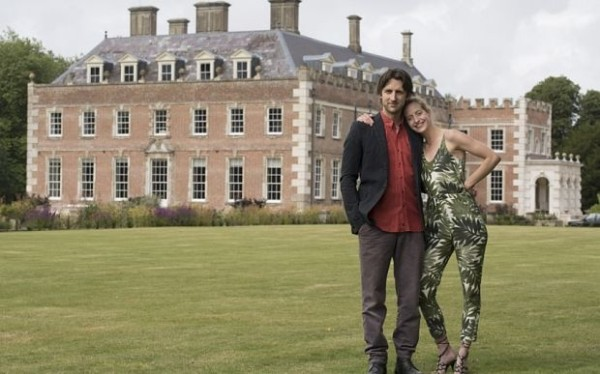 Nick and Dinah Ashley-Cooper at St Giles House-The Telegraph-Andrew Crowley