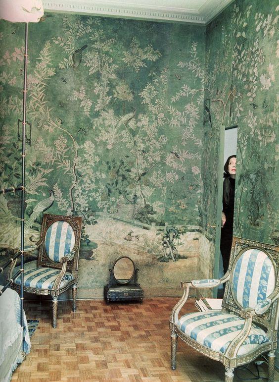 Baroness Pauline de Rothschild-Vogue-Horst 1969