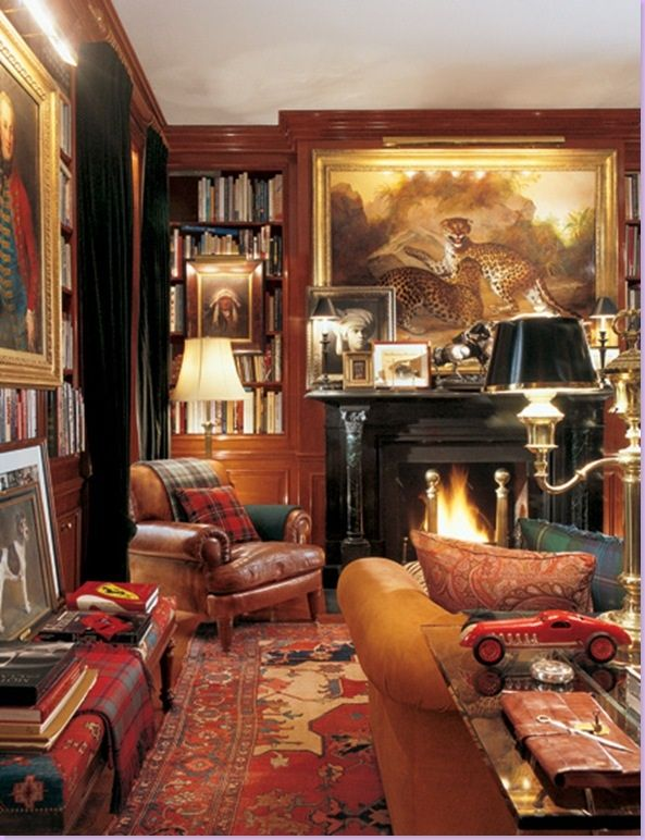 The Manhattan apartment of architect Thierry Despont as featured in HG, October 1991.