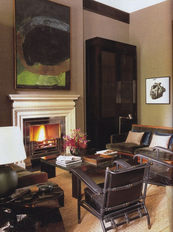Jonathan Reed London flat-The World of Interiors+March 2015