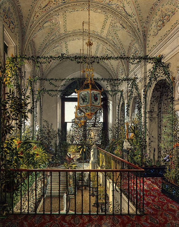 Interiors-of-the-Winter-Palace-The-Small-Winter-Garden-of-Empress-Alexandra-Fyodorovna