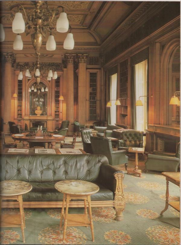 The Smoking Room-Reform Club London-WoI November 1984-John Vere Brown