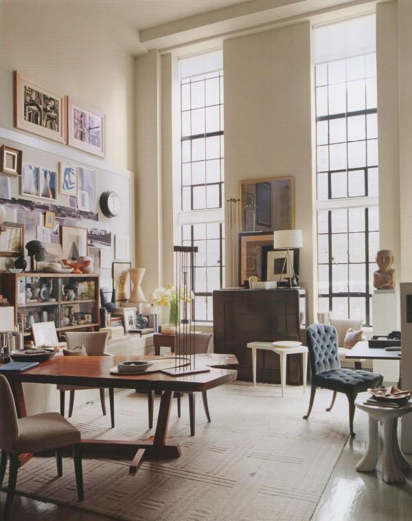 Thomas O'Brien 57th St NY apartment+Photography by Laura Resen