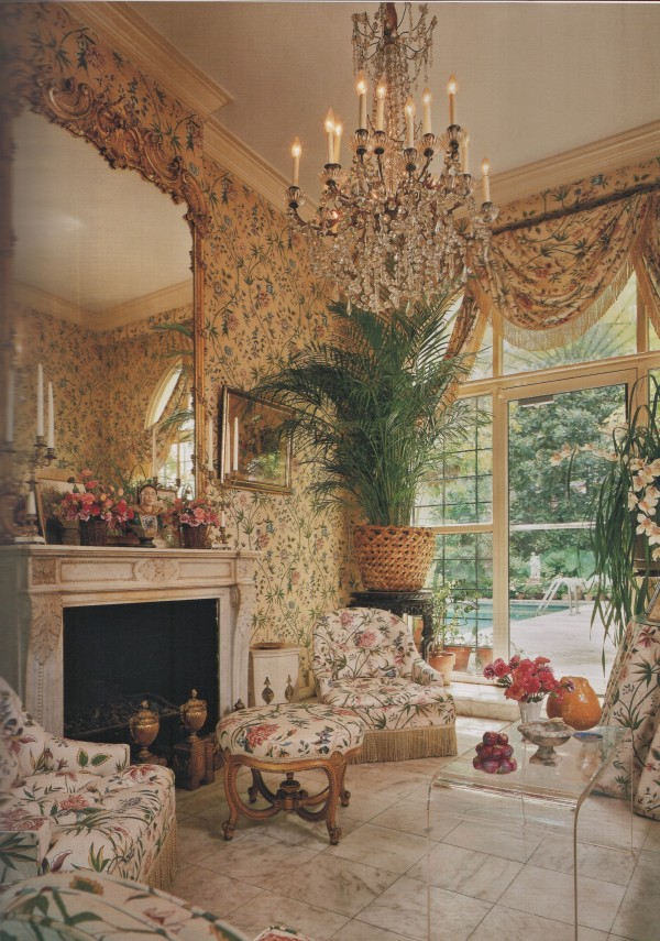 Mark Hampton-Louisiana garden room-L. Blaine Hickey photography