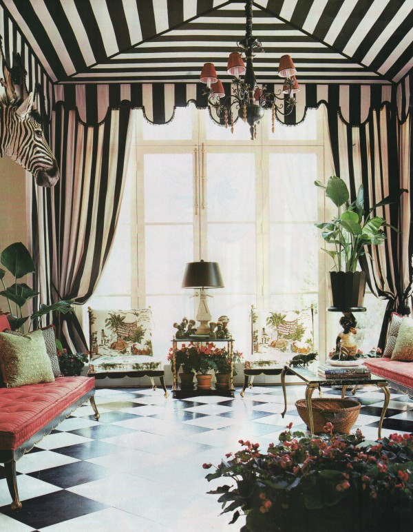 Richard Keith Langham-Tented Room-House Beautiful 2002-Fernando Bengoechea photographer